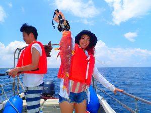 【地域共通クーポン対象】爆釣!石垣島フィッシングツアー-2時間コース-(No.400)