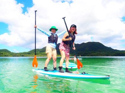 石垣島、川平湾SUP、友達と、女子旅