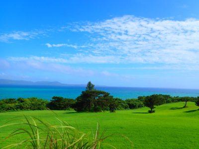 石垣島、快晴、青空