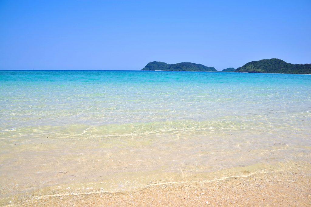西表島西側にある船浮のイダの浜
