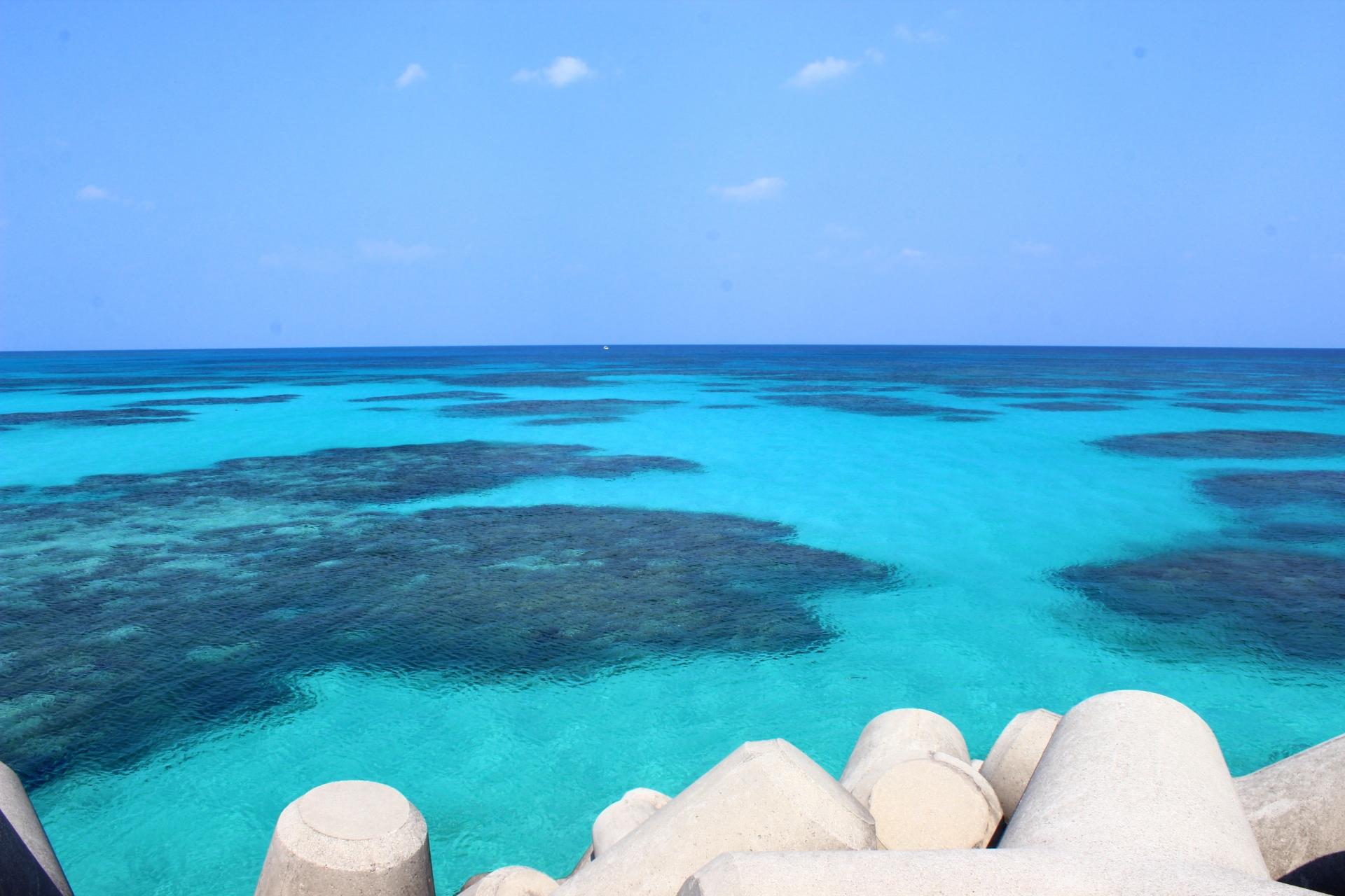 波照間島の美しい海