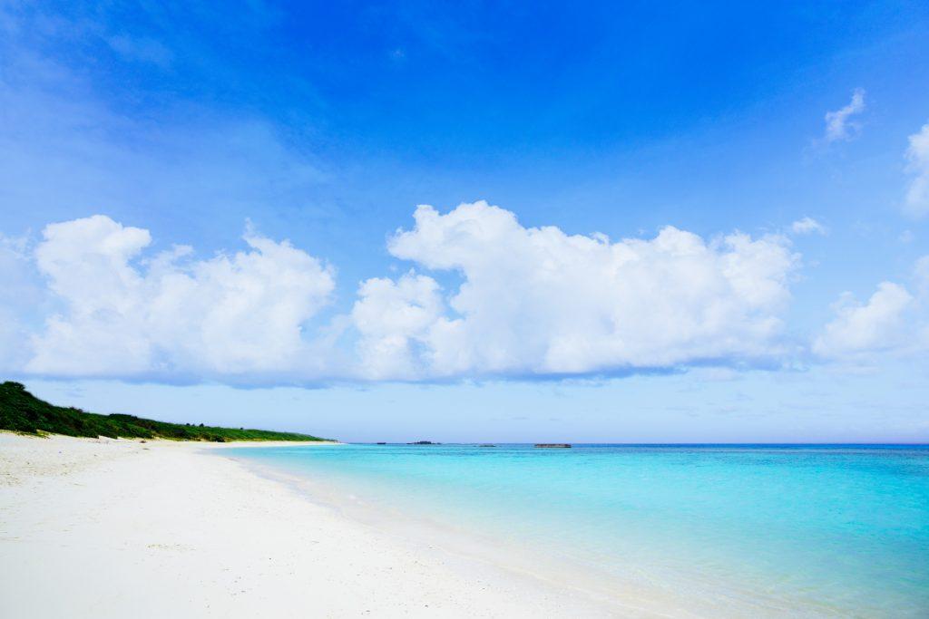 日本で最も美しいニシ浜