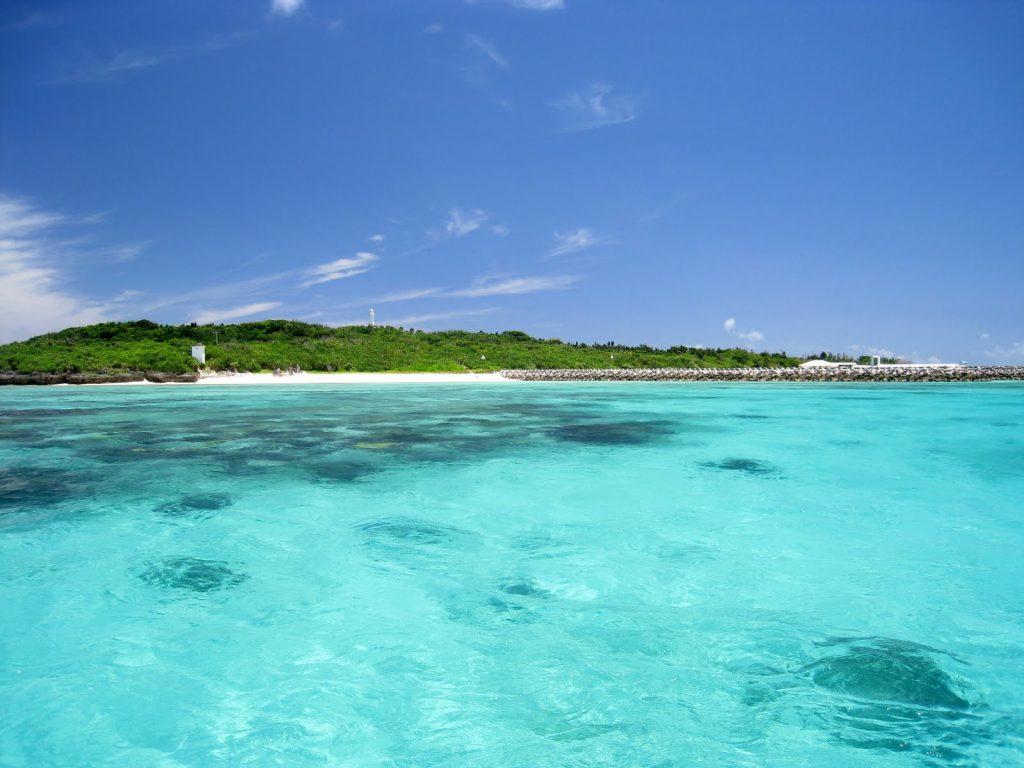 西表島からツアーで鳩間島へ行く