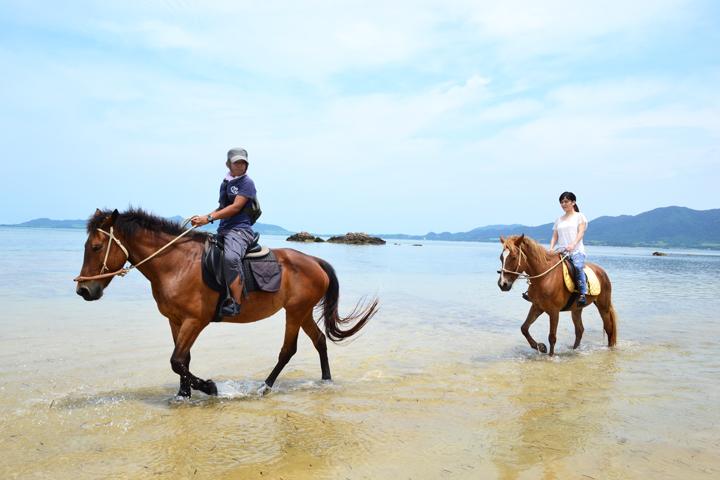 石垣島で乗馬体験アクティビティ