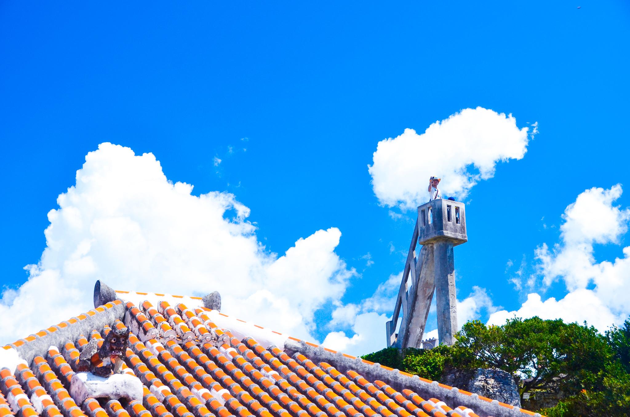 竹富島を一望できるなごみの塔