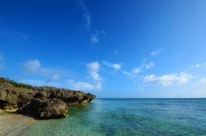 黒島のシュノーケリングポイント仲本海岸