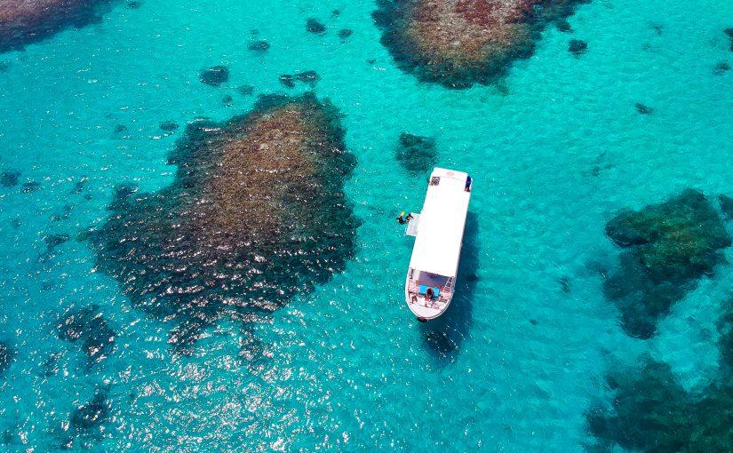 小浜島周辺の美しい海