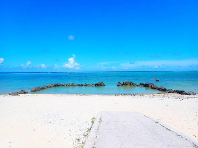 石垣島、白保海岸