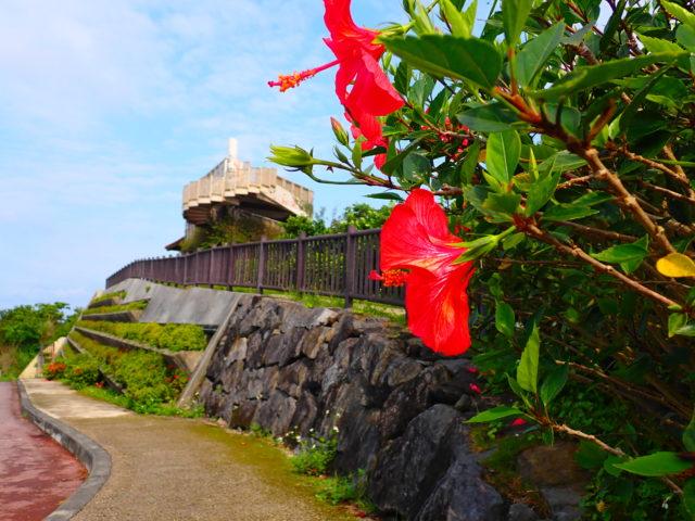 バンナ公園、エメラルドの海を見る展望台
