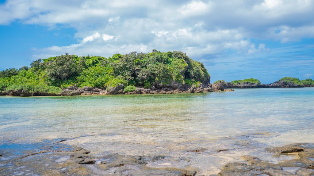 西表島の星砂ビーチ