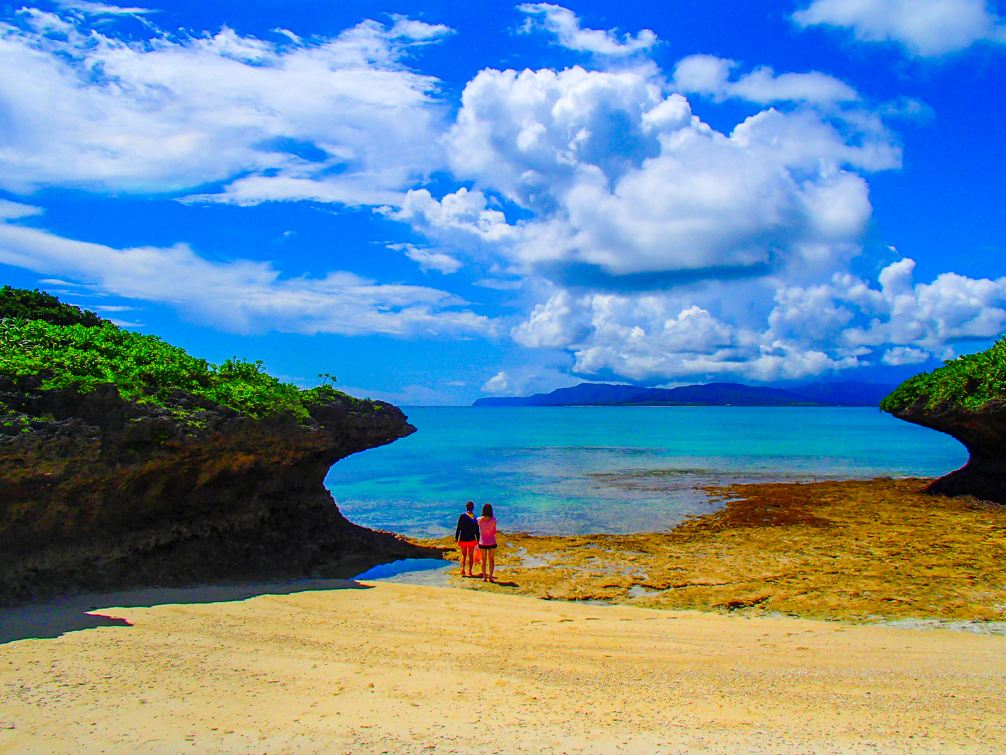 プライベートビーチの様な恋路ヶ浜