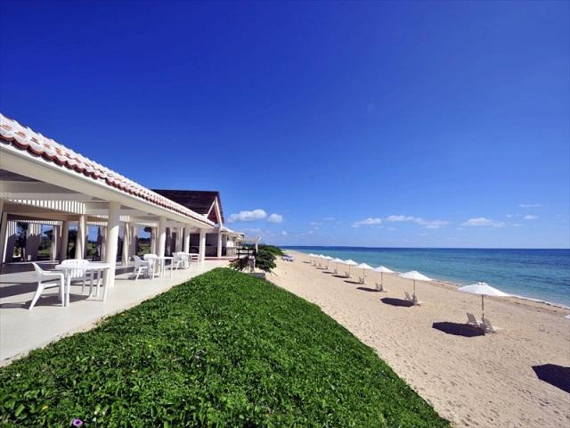 ホテルはいむるぶしのビーチ