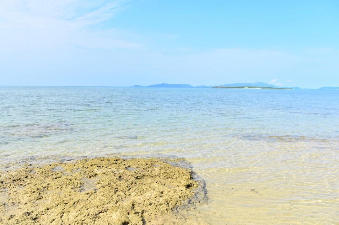 小浜島のやらますビーチ