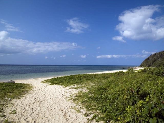 西表島最南端の南風見田ビーチ