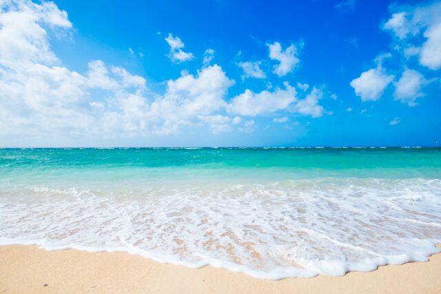 3月の石垣島の海
