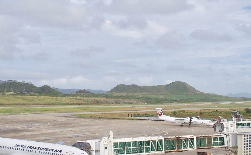 石垣空港から見えるカラ岳