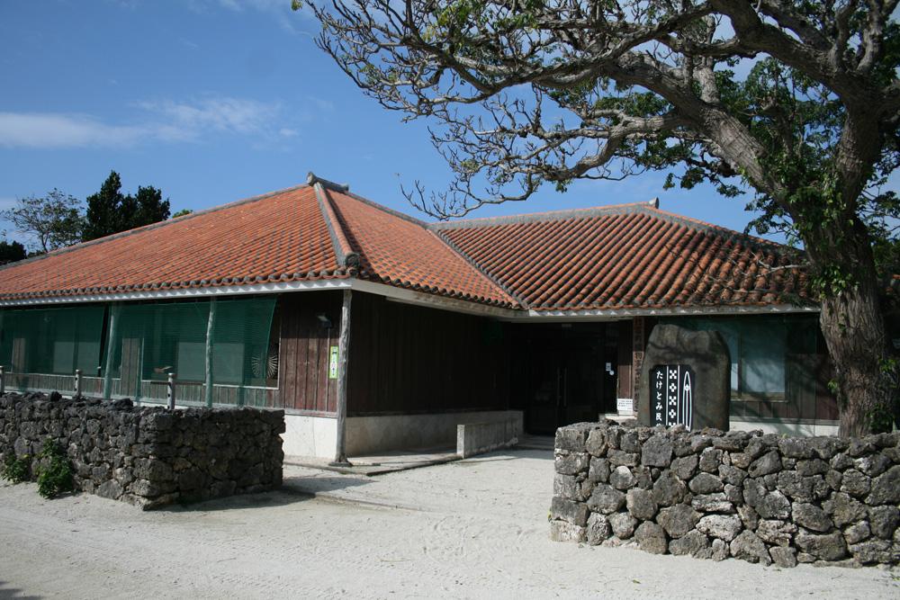 伝統的な織物を学べる竹富民芸館