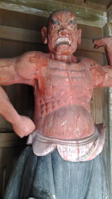 石垣島の密迹力士像