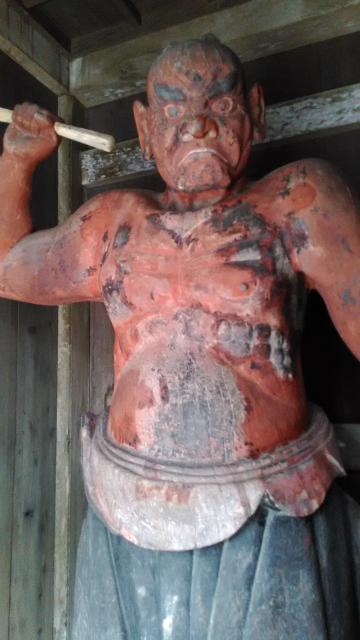石垣島の金剛力士像