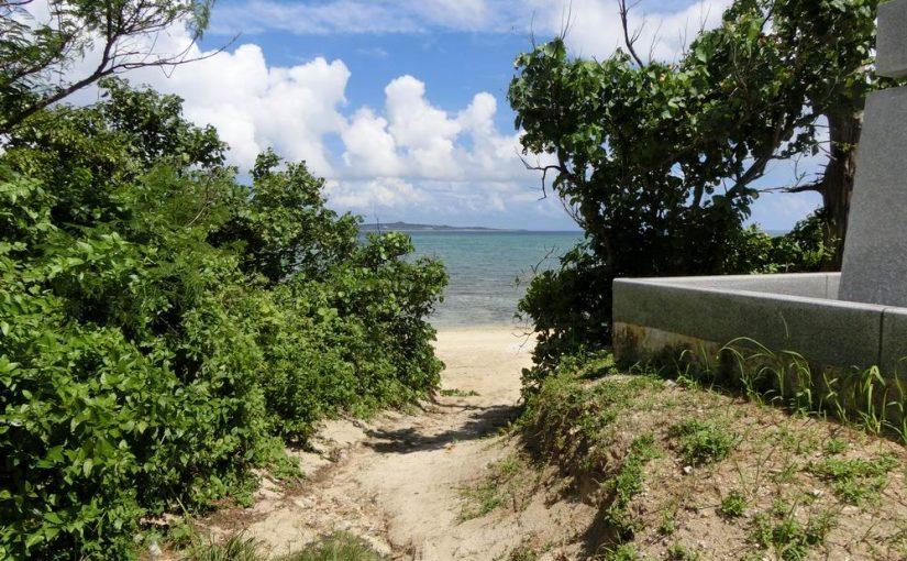 石垣島の大崎ビーチ
