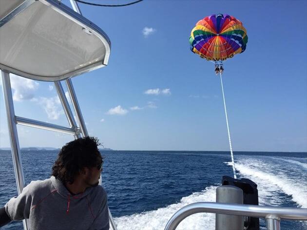 石垣島パラセーリングツアー