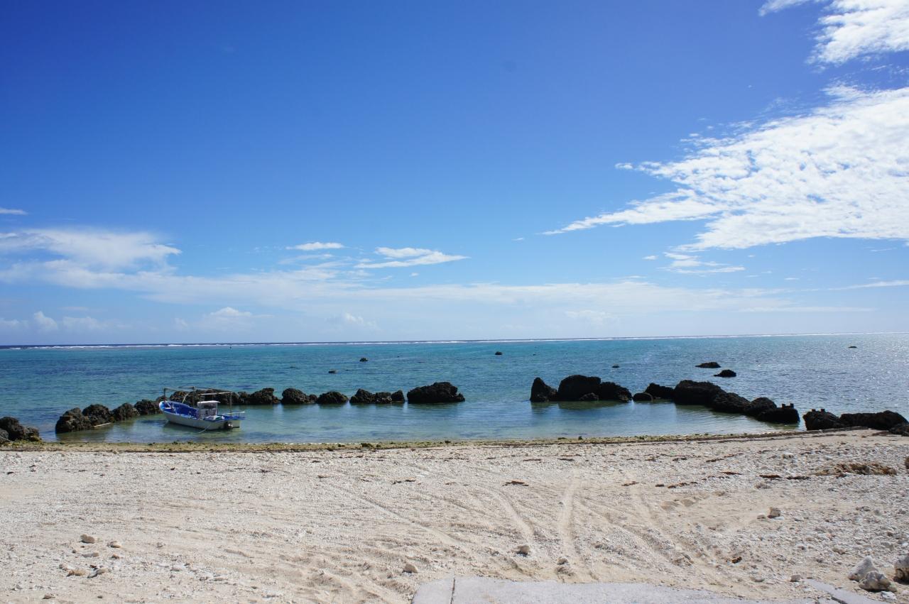 石垣島の白保海岸