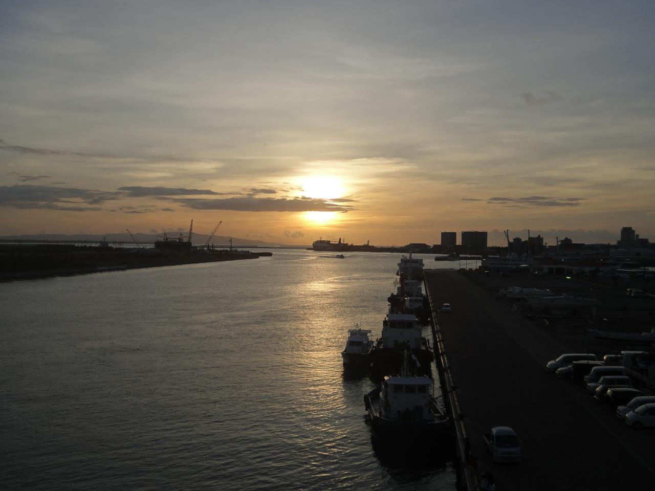 サザンゲートブリッジから見る夕焼け