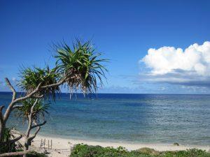 黒島屈指のビーチ