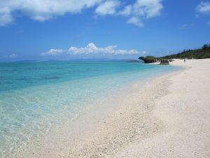 黒島の西の浜の風景