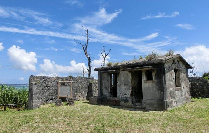 石垣島の電信屋跡