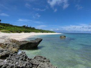 黒島のホワイトサンドビーチ