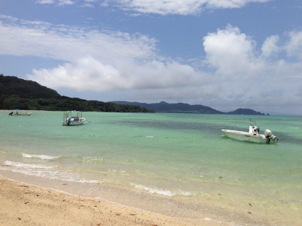 石垣島の底地ビーチ