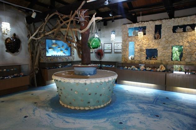 由布島貝の館