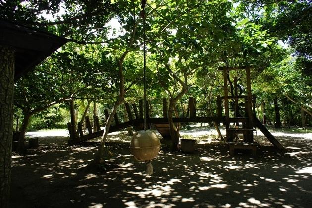 由布島にある子供の広場