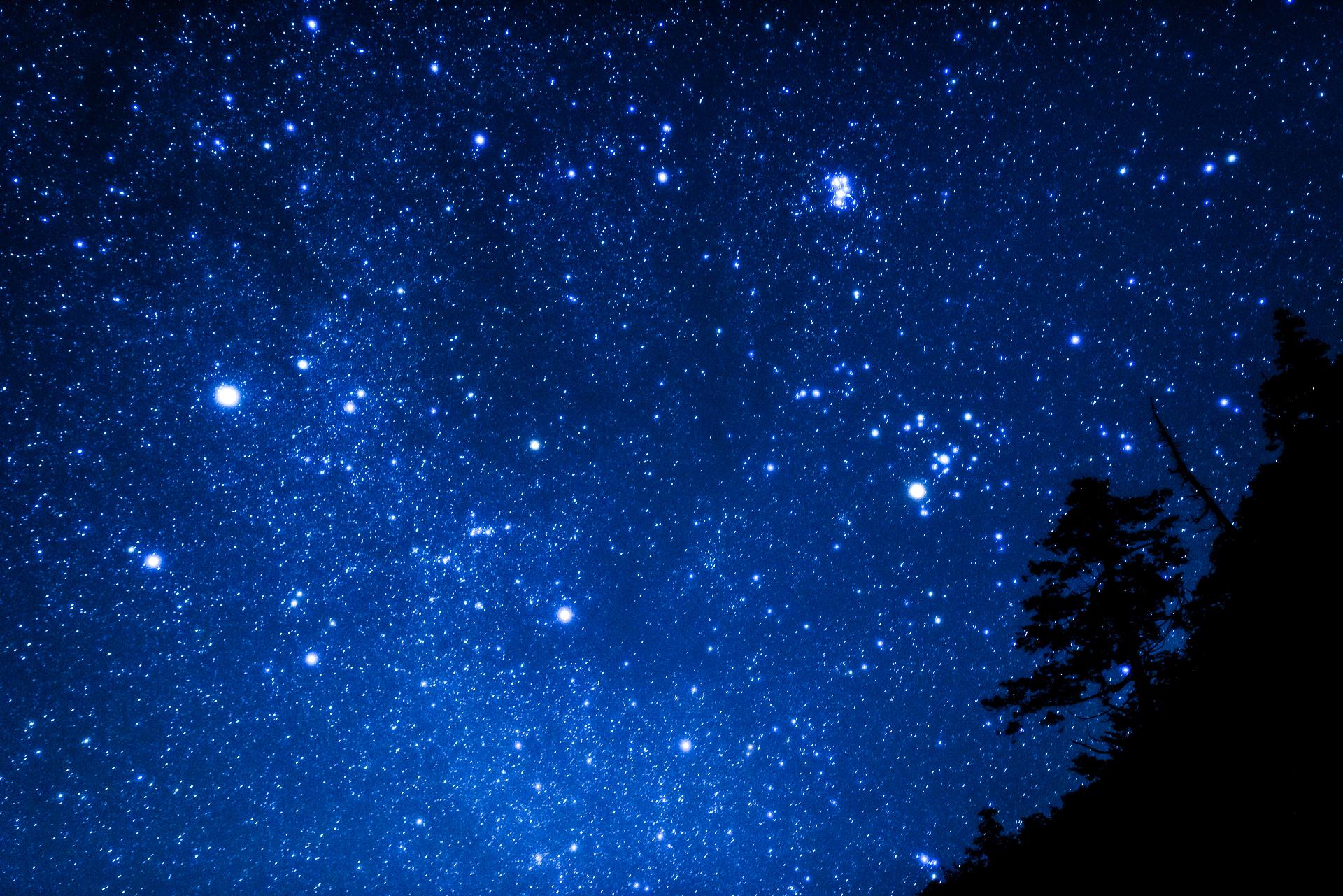 スタークルーズ中の夜景