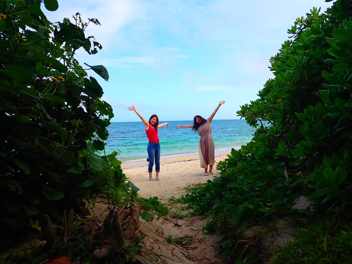 石垣島、海、女の子、女子旅
