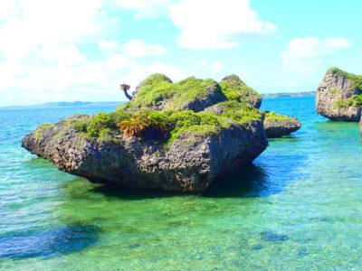 ノッチ・キノコ岩