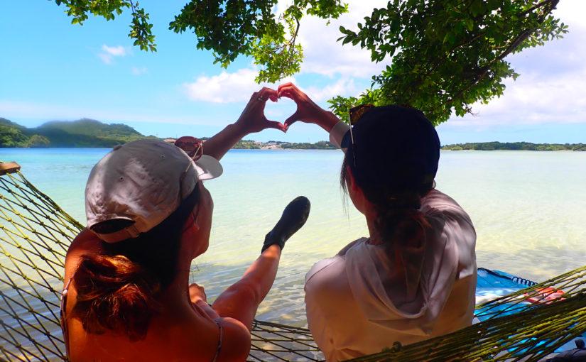 石垣島、川平湾SUPツアー、女子旅