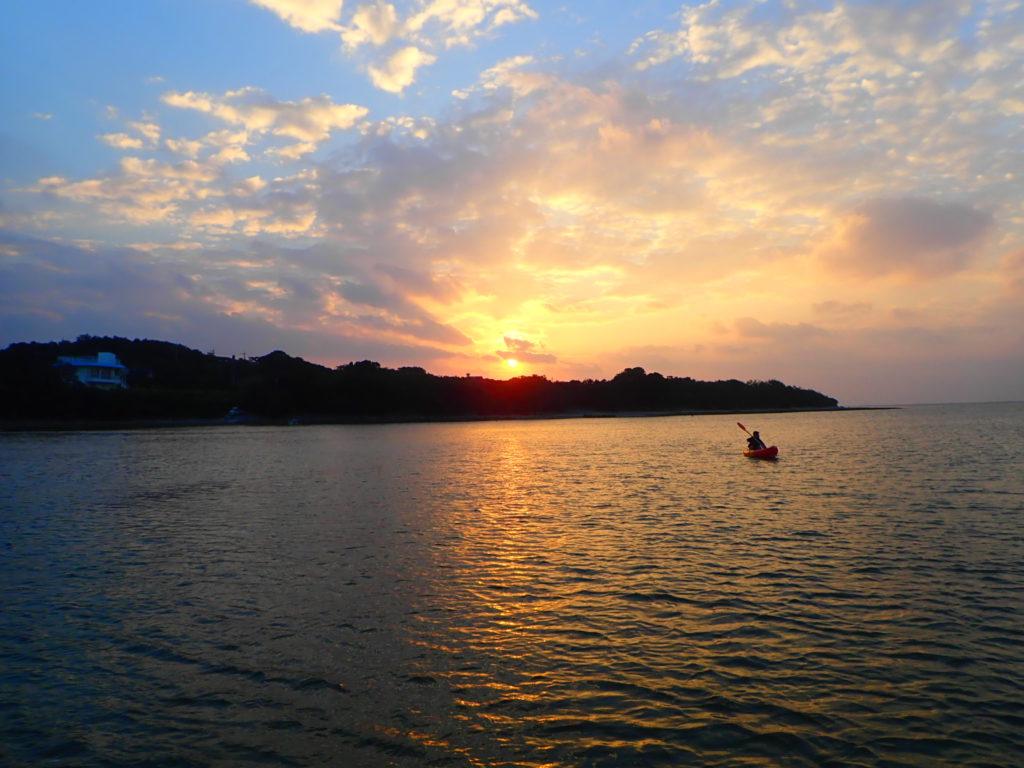 石垣島の日の出カヤック
