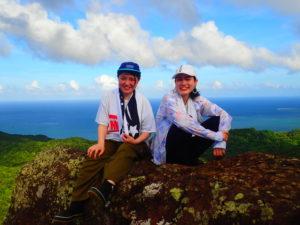 マーペー岳トレッキング、友達と、女子旅