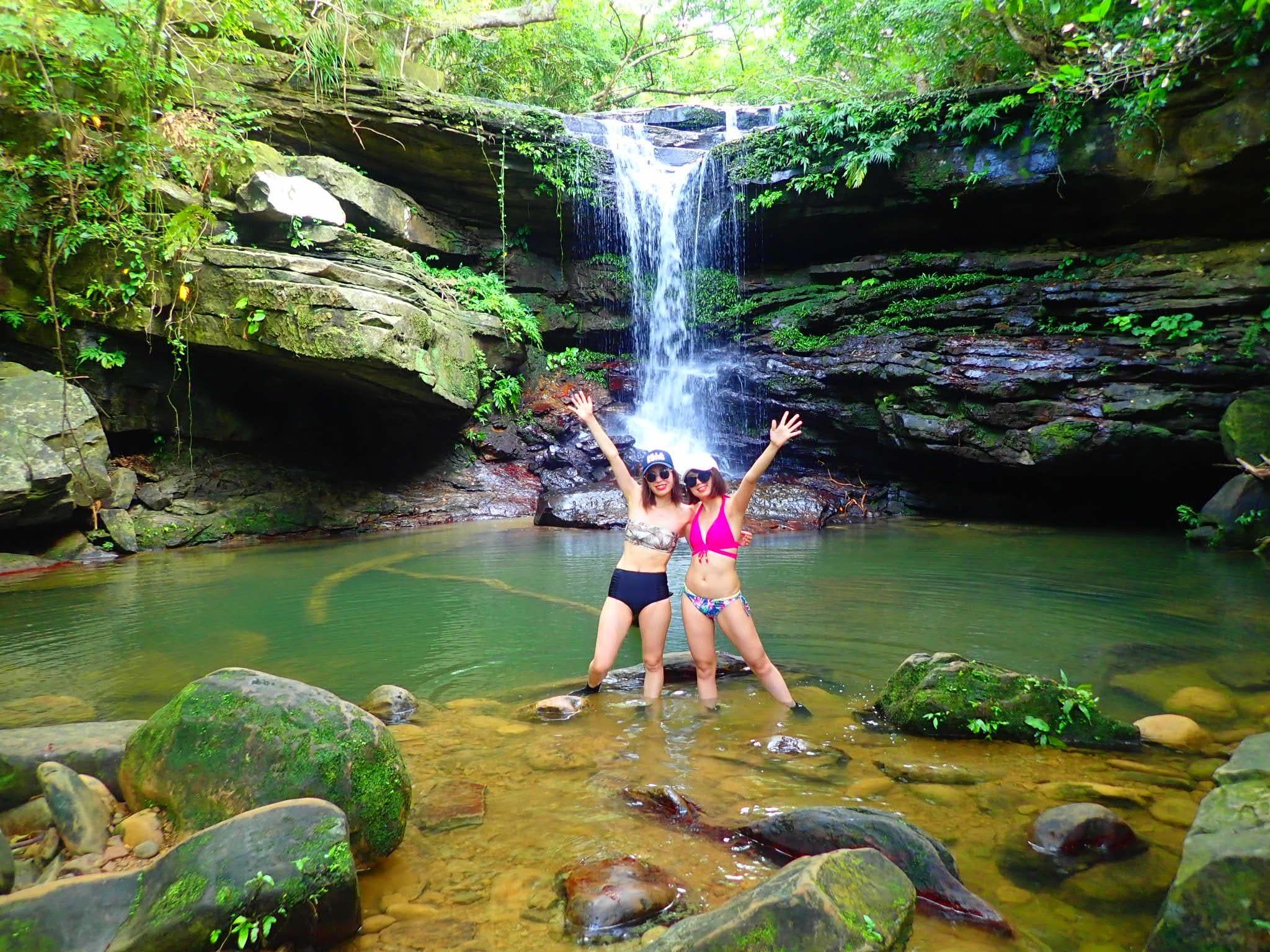 西表島の穴場の滝ポイント