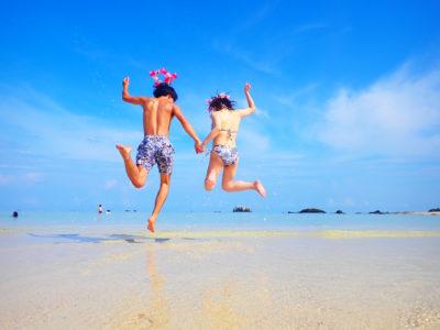 石垣島、幻の島上陸&シュノーケリングツアー、カップルで