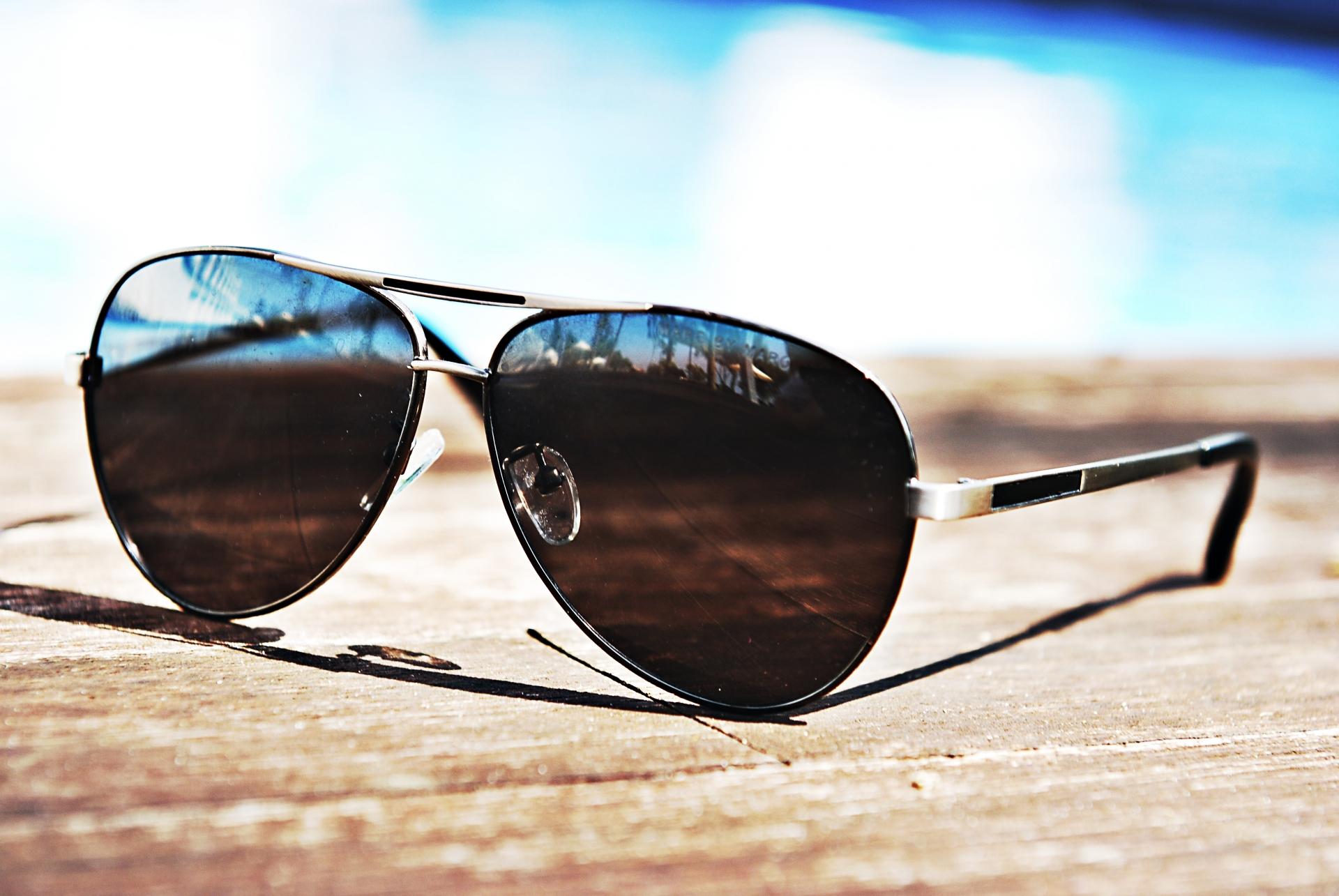 紫外線の強い石垣島でのマストアイテムであるサングラス