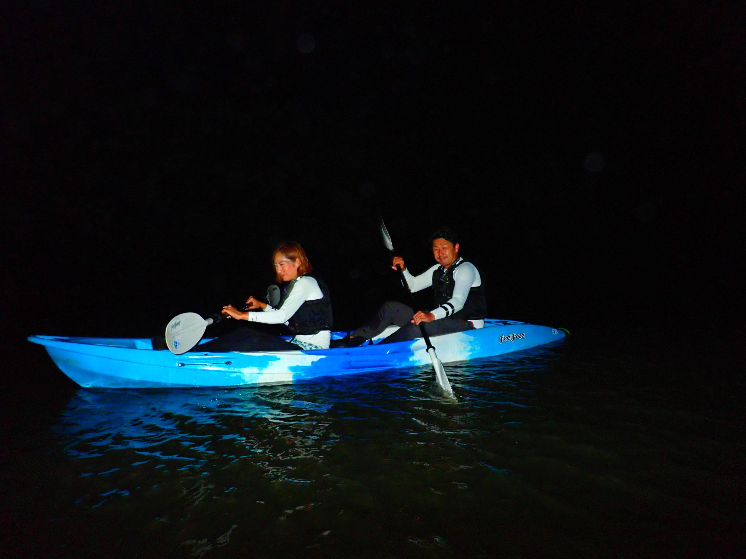 【石垣島】夜の静寂の中の新体験!ナイトマングローブ&星空カヌー(No.331)