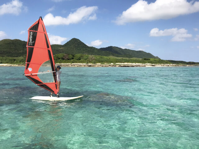 【石垣島】ウィンドサーフィン体験コース(No.494)