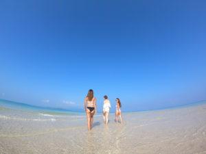 女子旅で幻の島に上陸