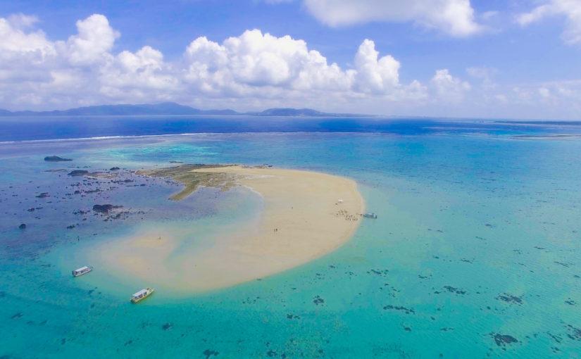 空撮の幻の島