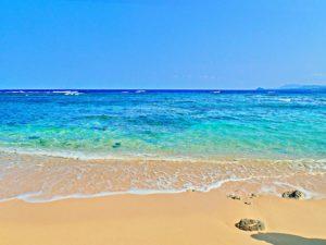 石垣島・青の洞窟近くのビーチ