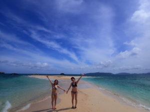 幻の島に上陸した女性達