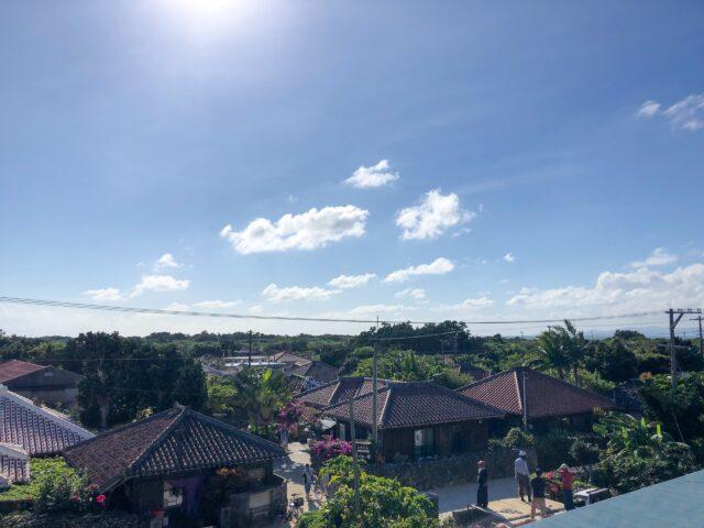 竹富島 なごみの塔からの景色